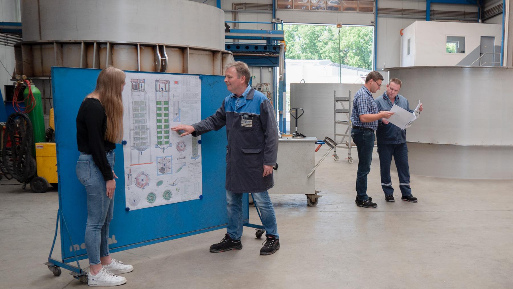 Werkstätten GmbH: Team